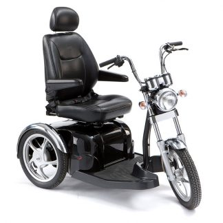 The Sport Rider is a modern design 8mph scooter